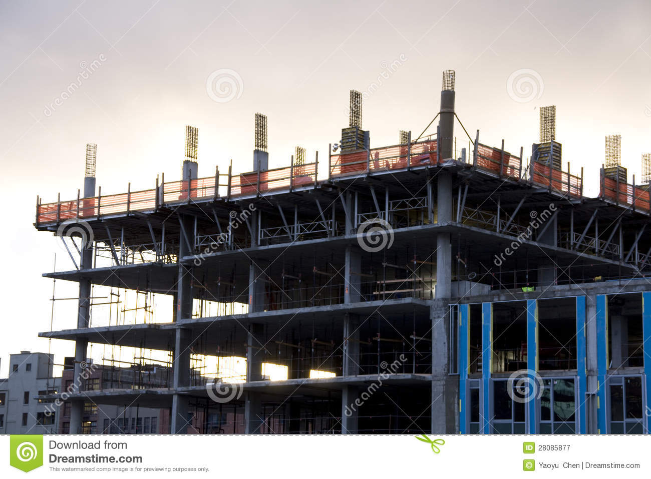 Construction image stock image du placements neuf aller for Prix construction neuf