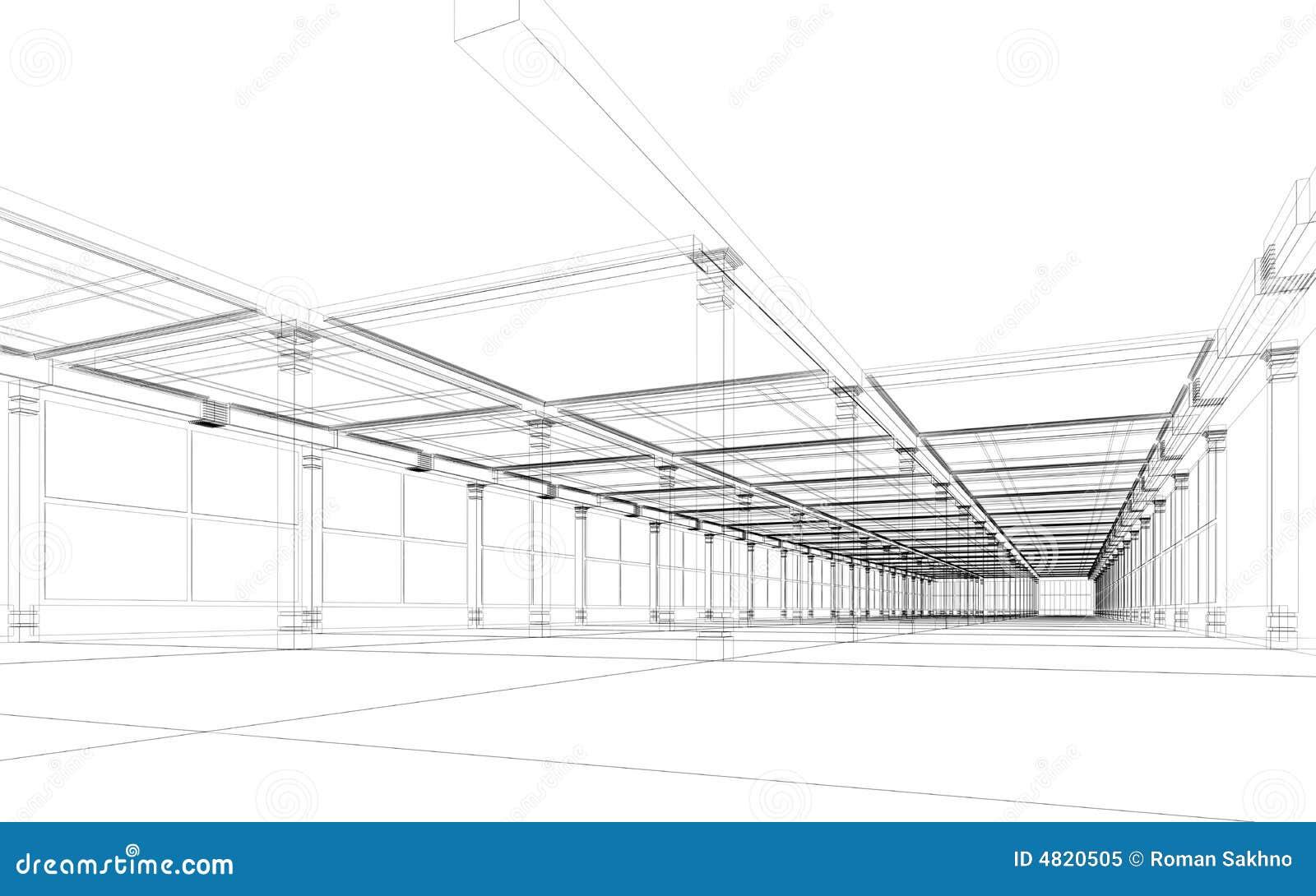 Construction architecturale abstraite