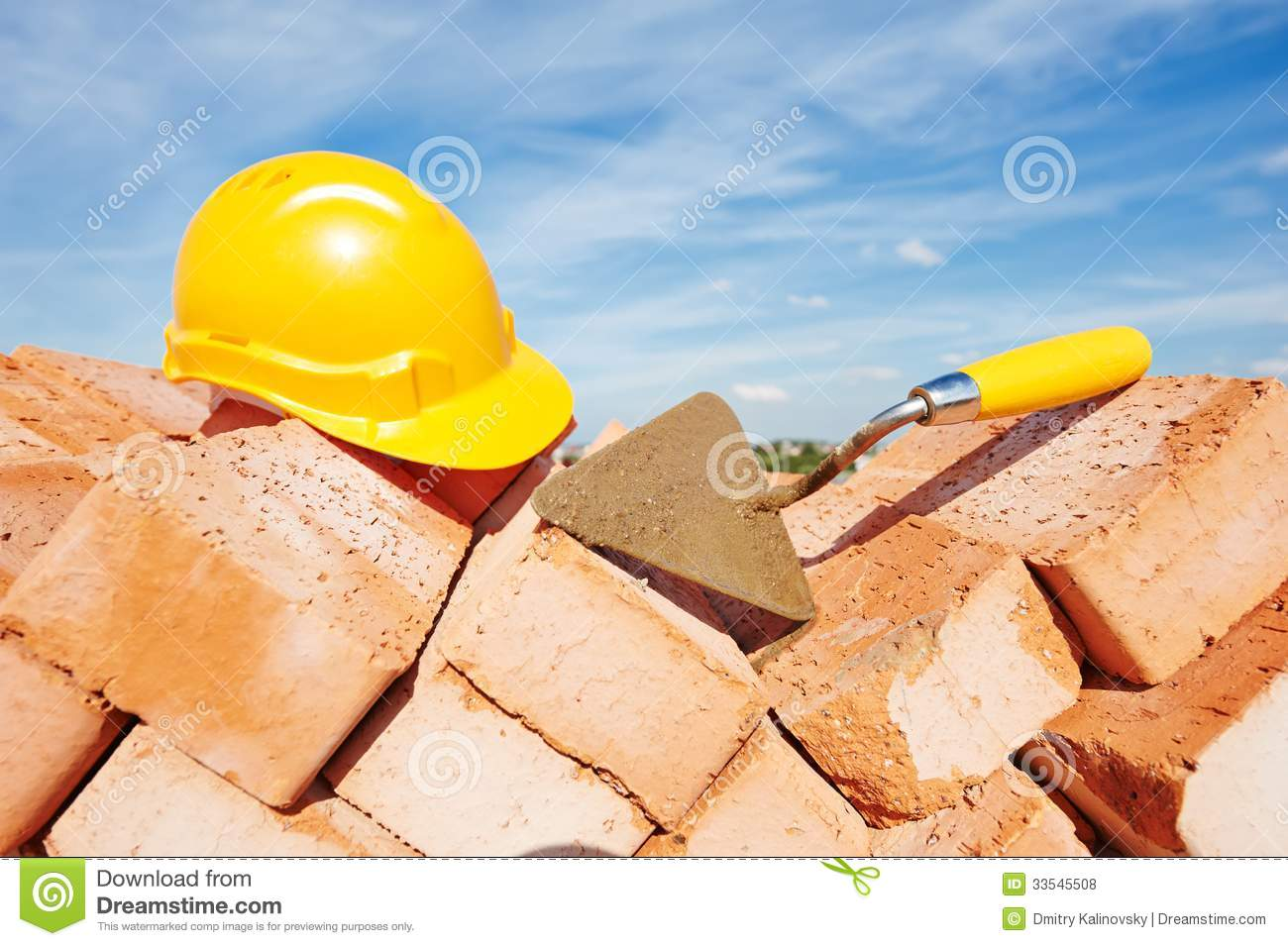Construction bricklayer tools royalty free stock photos for Builders in my area