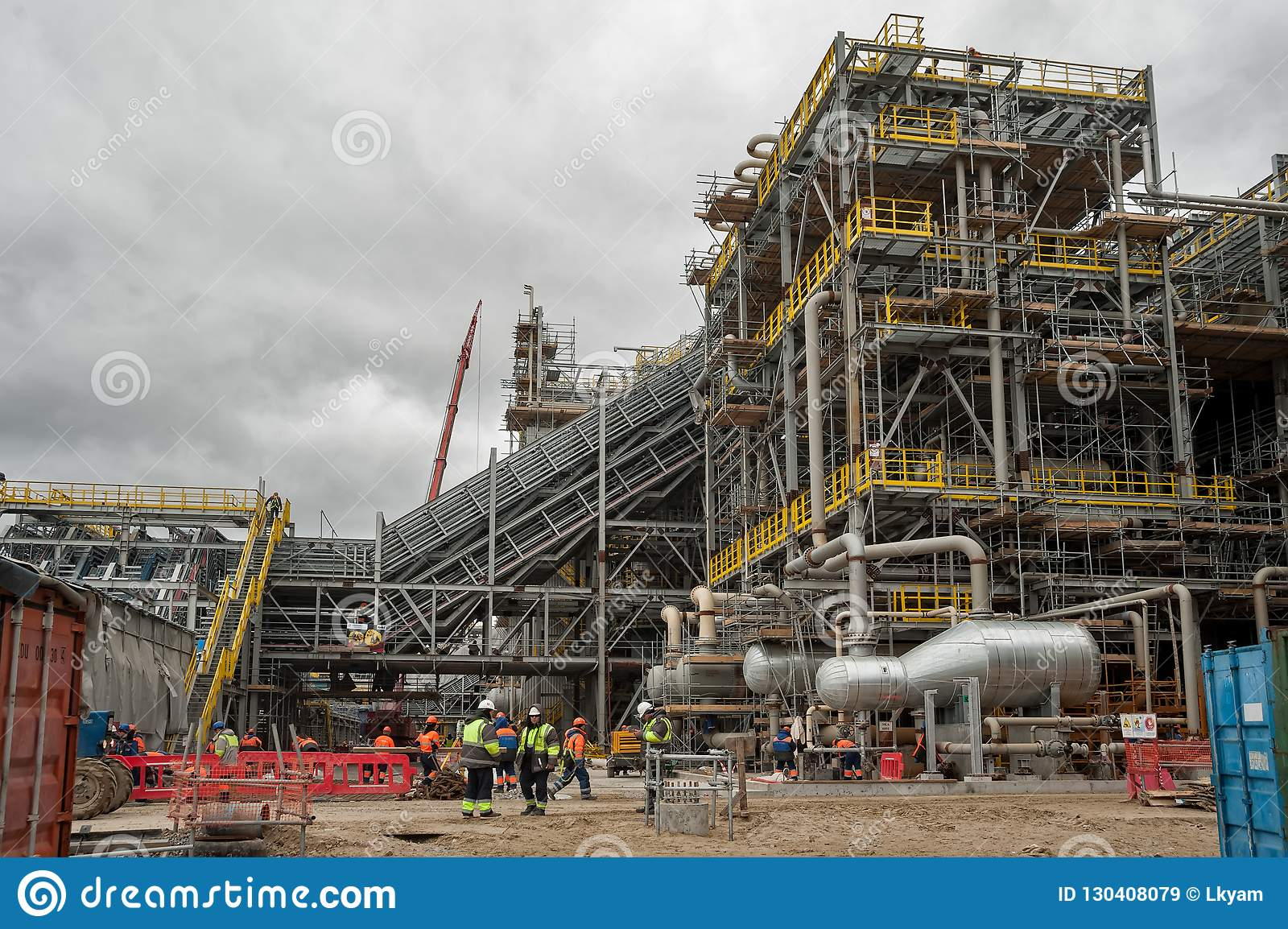Construction Of Chemical Plant At An Oil Refinery Editorial