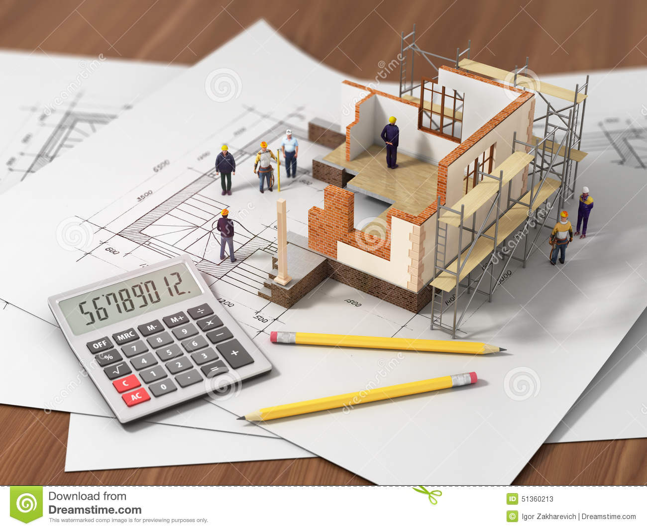 Construction Concept Stock Photo Image 51360213