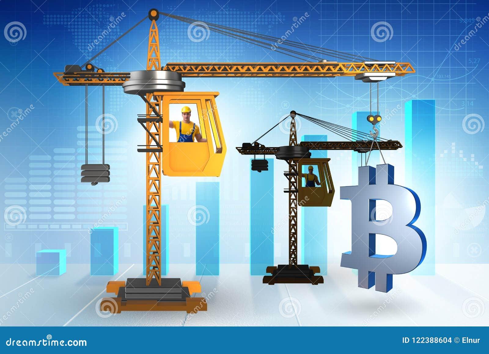 bitcoin crane
