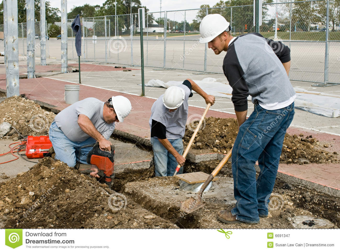 Construction Crew Royalty Free Stock Photography Image