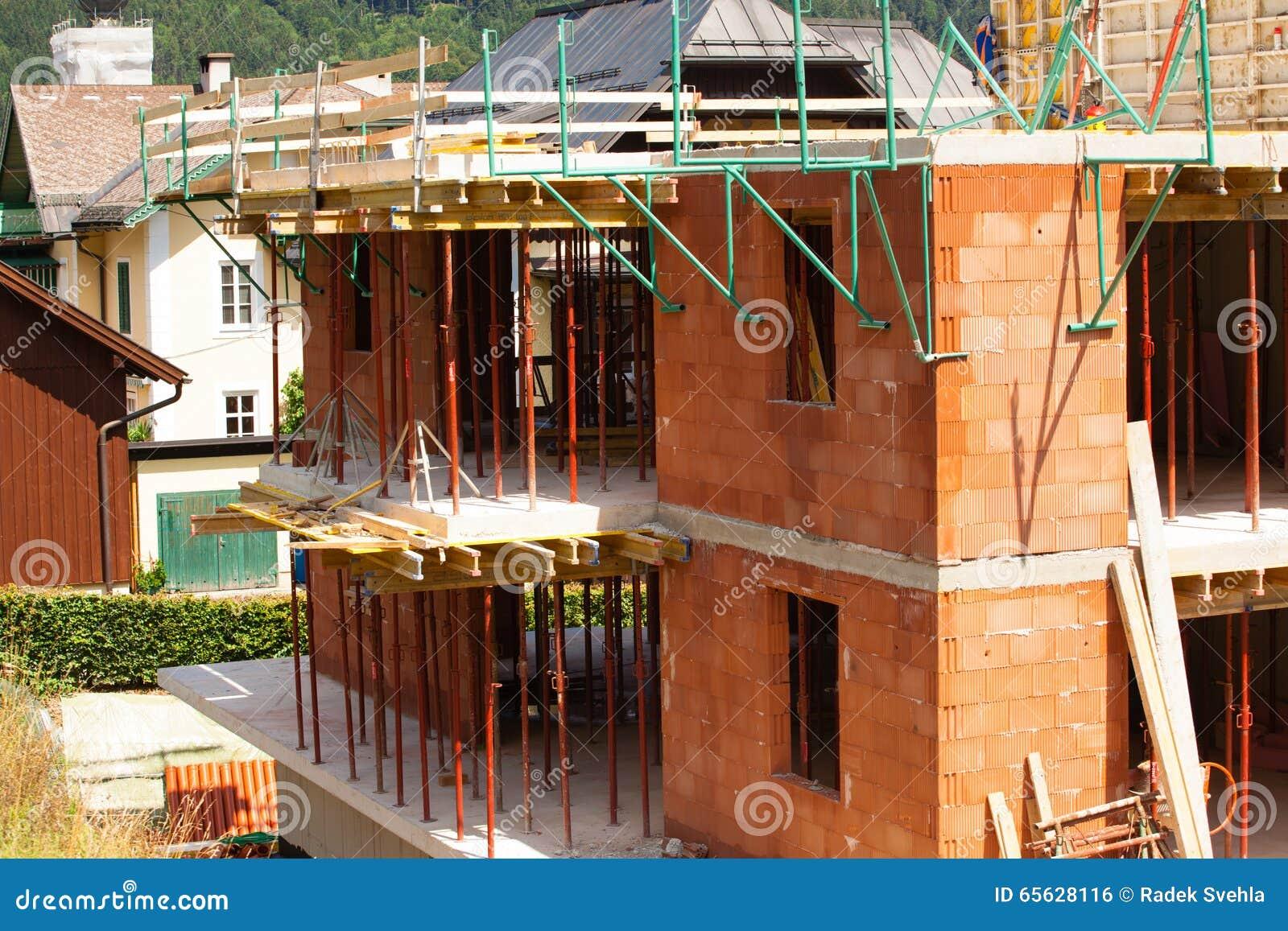 Construction d une nouvelle maison d étage