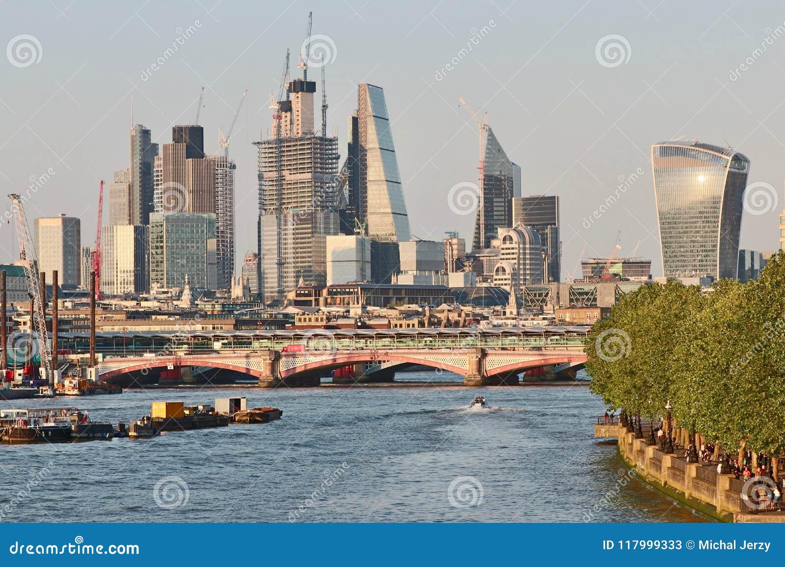 Construction dans la ville de Londres