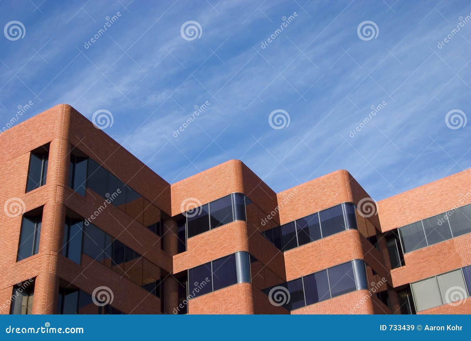 Construction de brique moderne