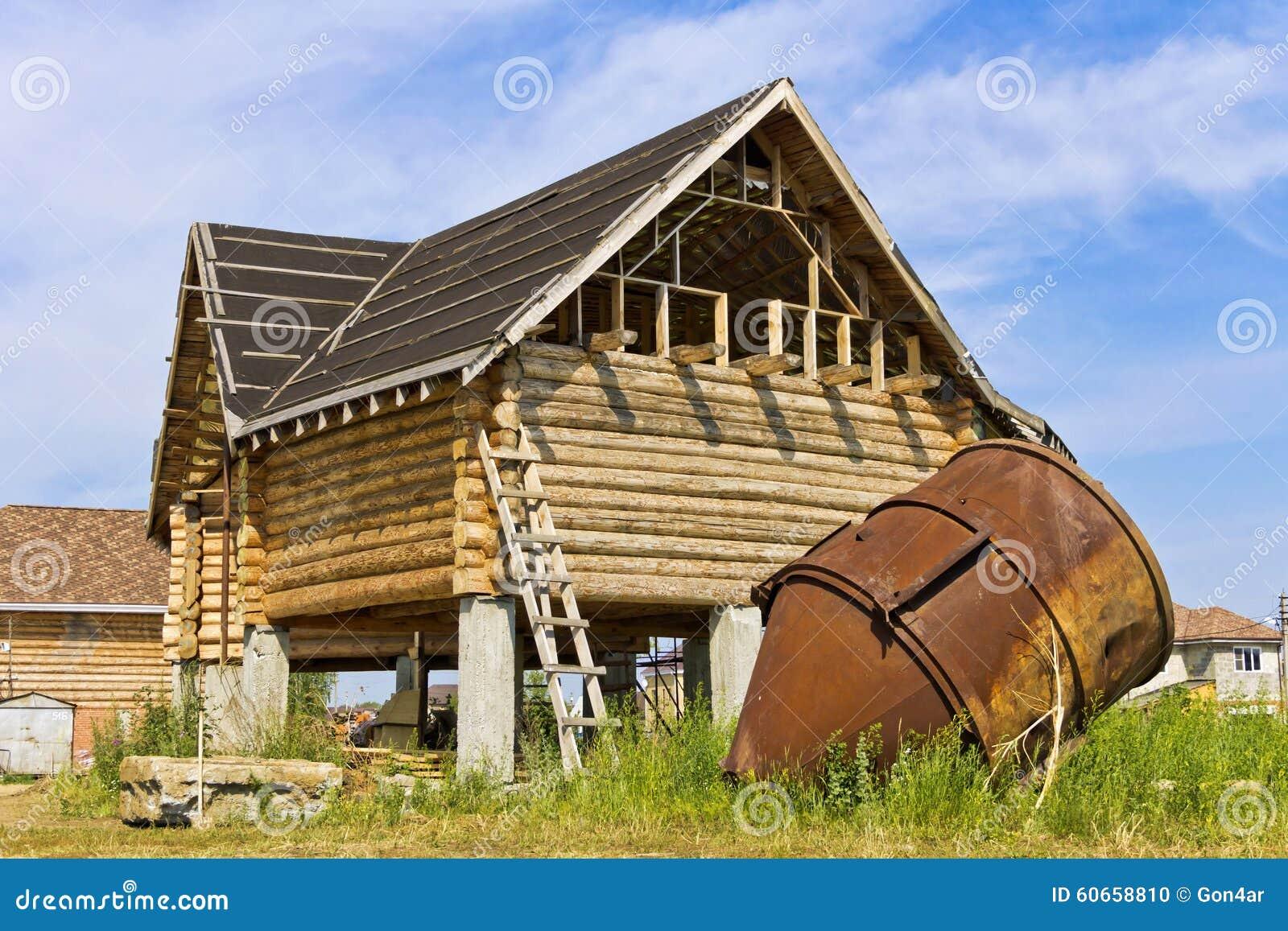 construction de cabane en rondins stock photos 732 images. Black Bedroom Furniture Sets. Home Design Ideas