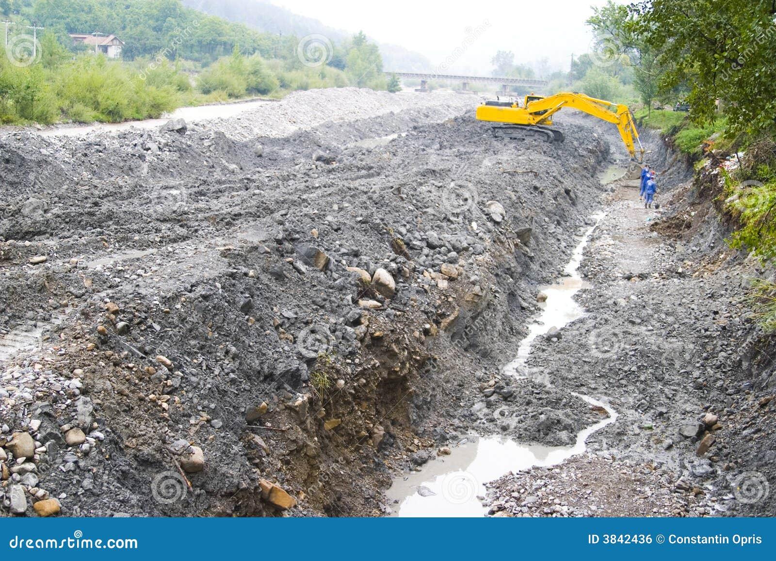 Construction de canalisation
