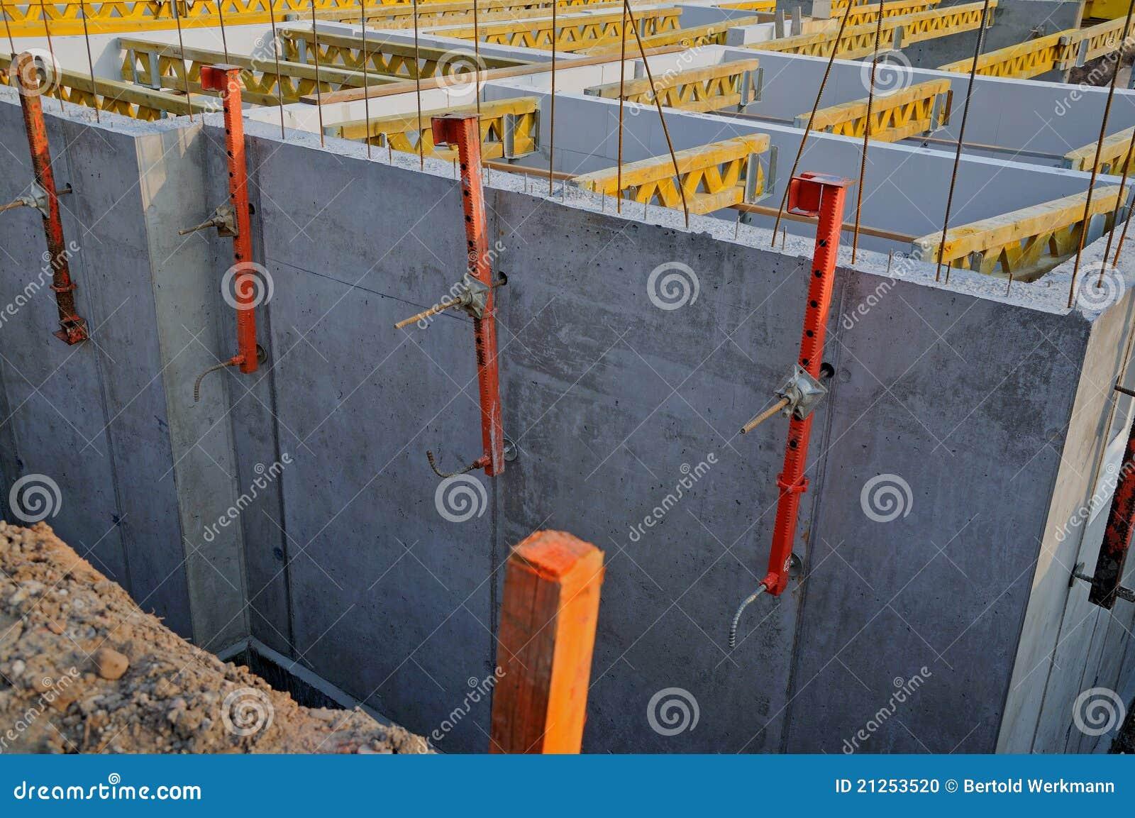 Construction de cave