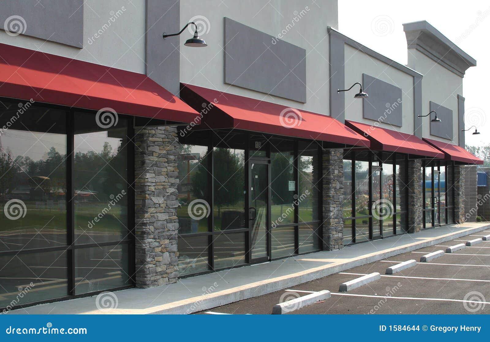 Construction de centre commercial - 1