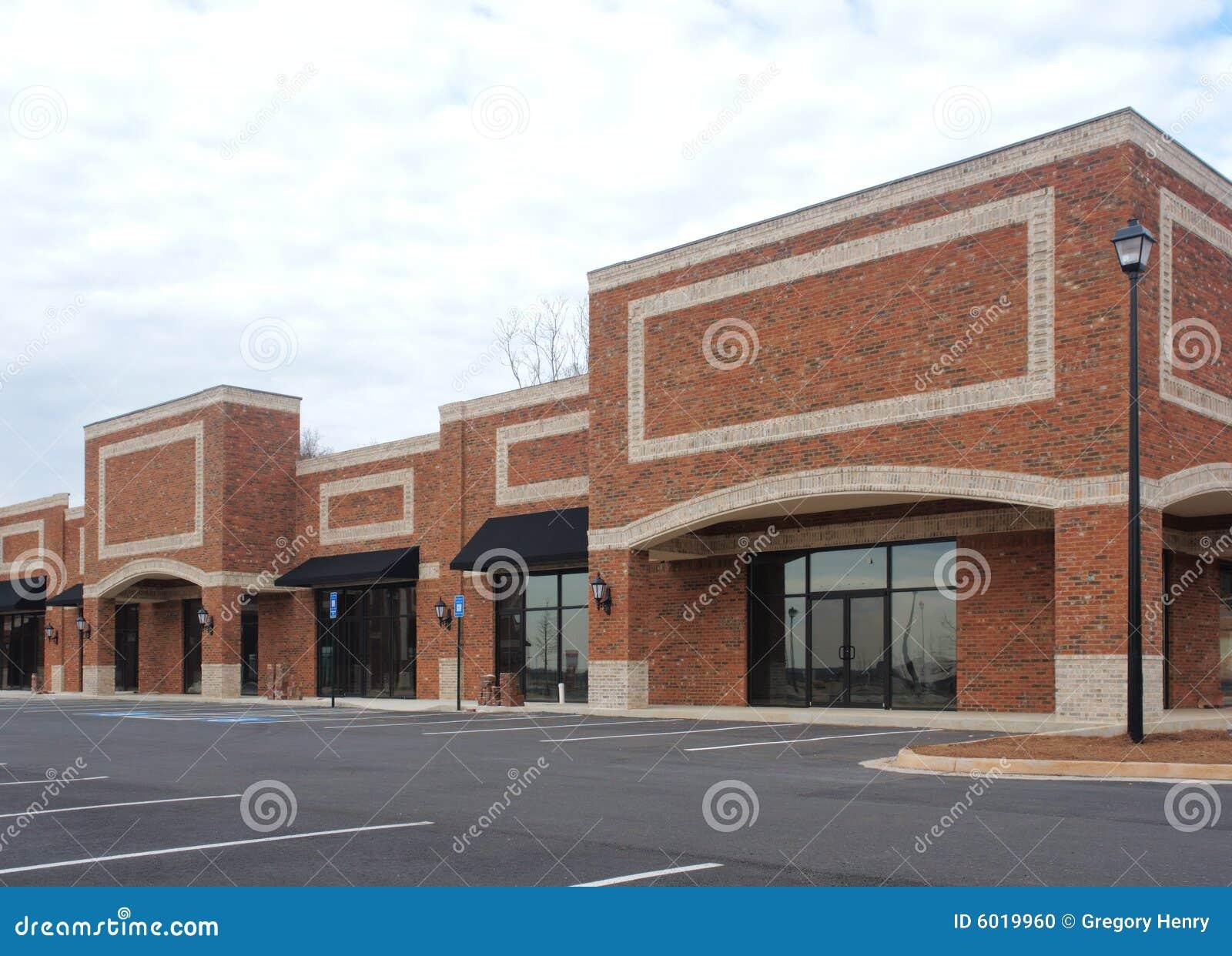 Construction de centre commercial