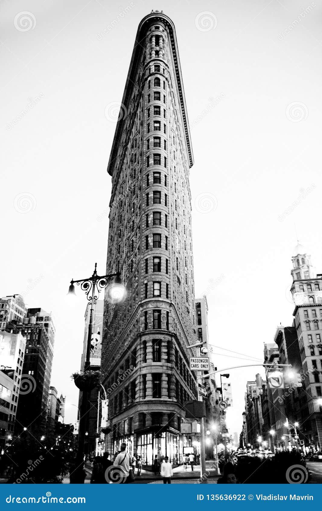 Construction de New York Flatiron