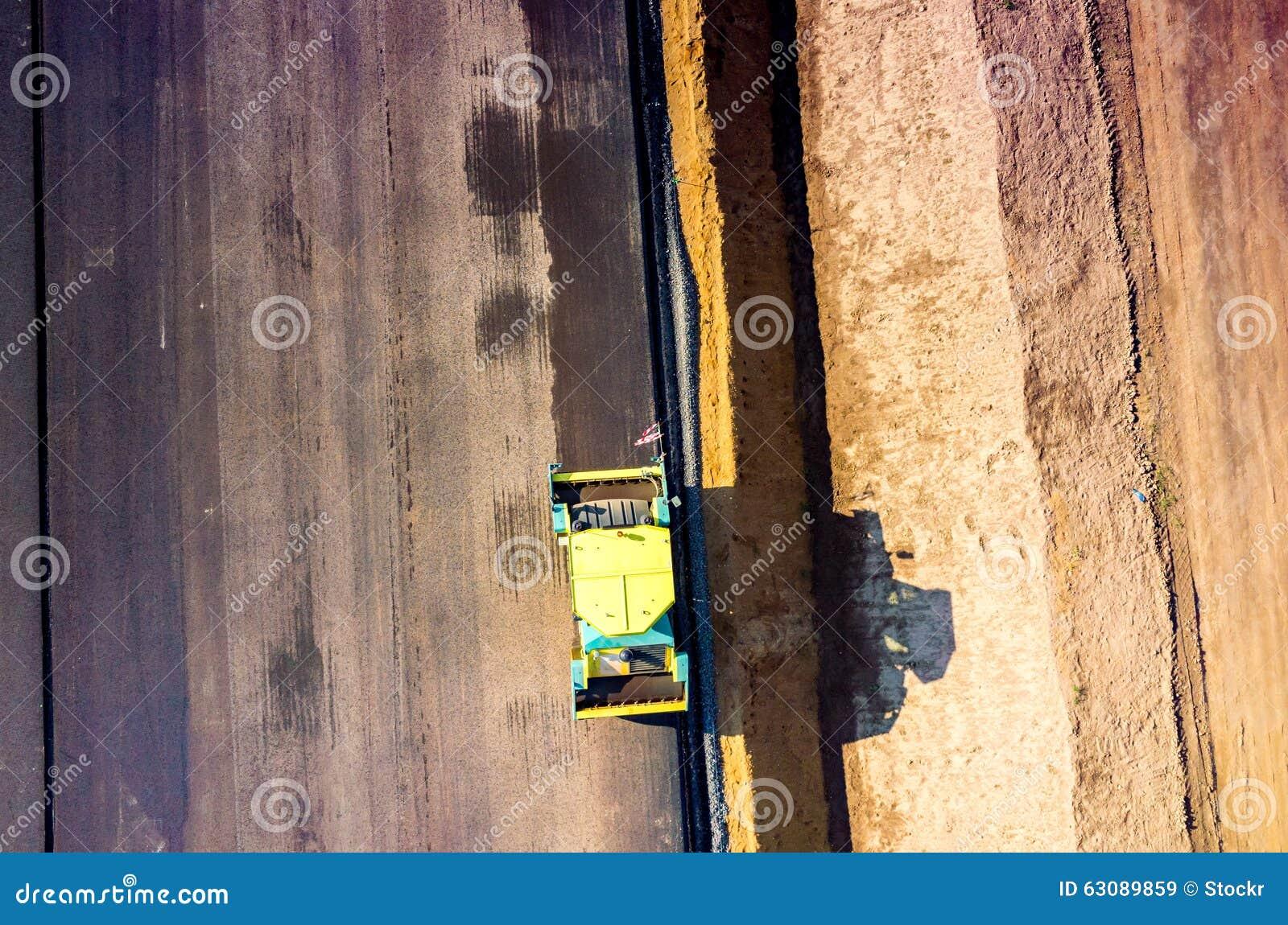 Download Construction De Routes Neuve Image stock - Image du lourd, activité: 63089859