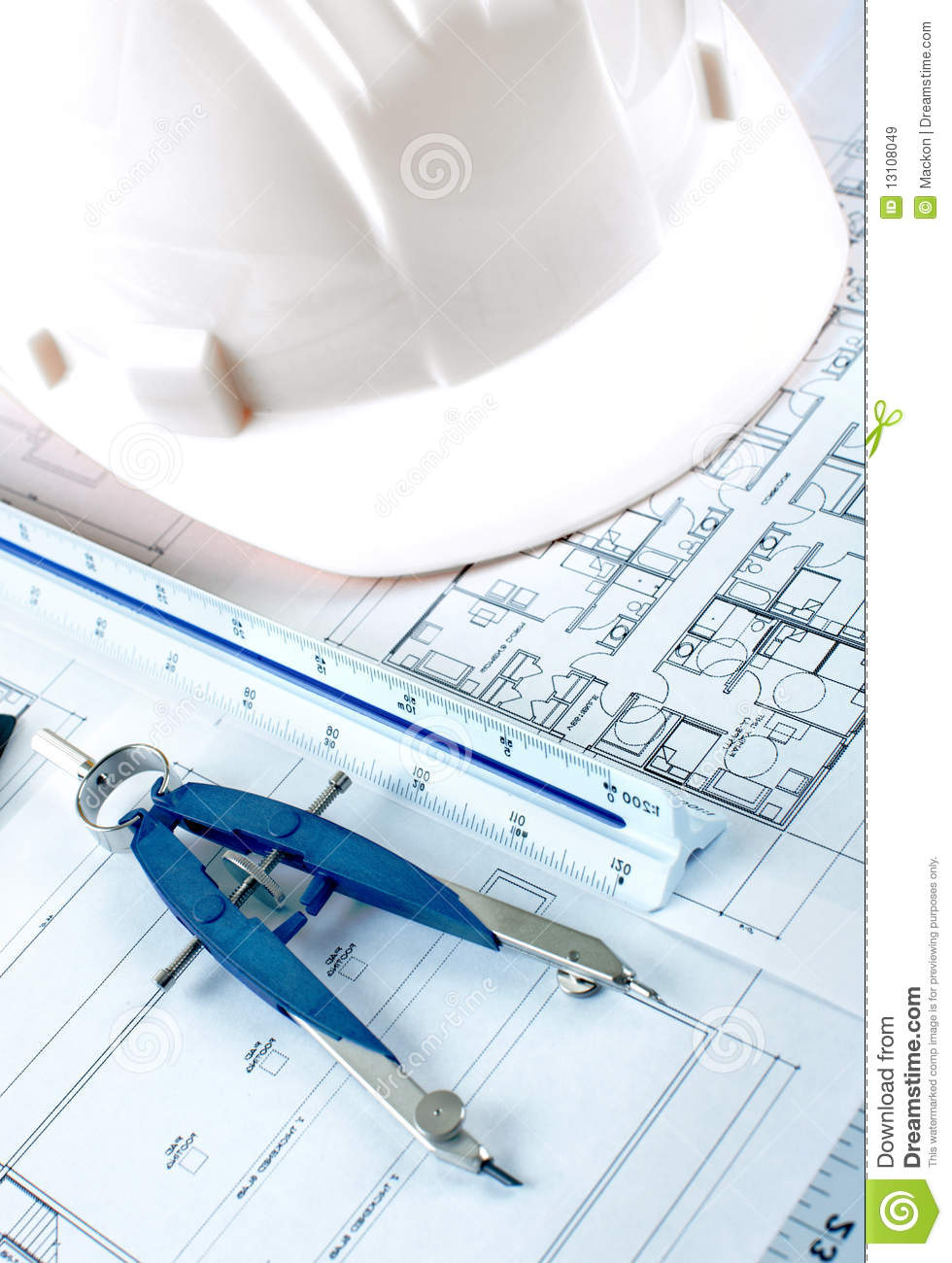 Construction Drawing Royalty Free Stock Images Image