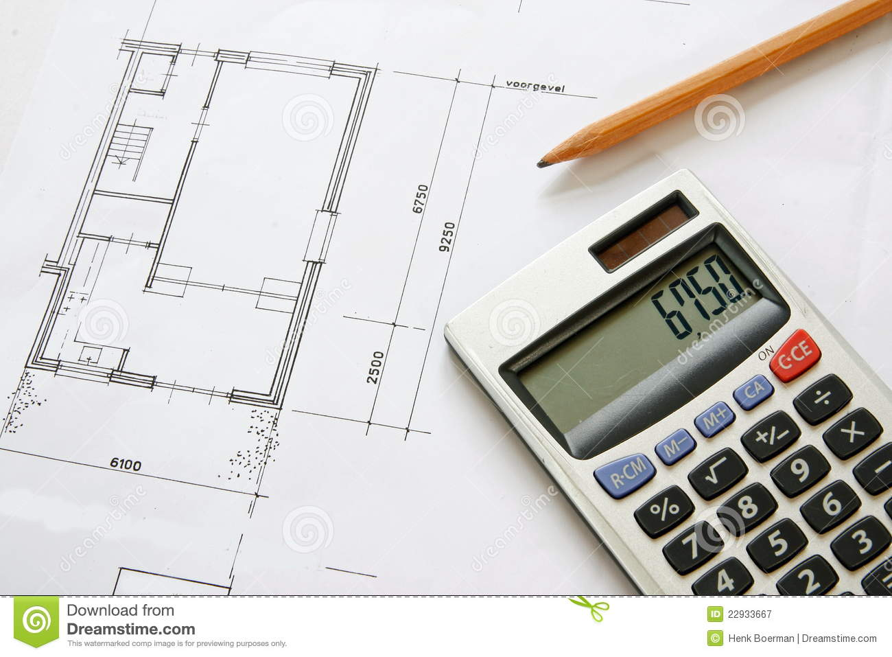 Construction drawing blueprints royalty free stock for Blueprint estimator