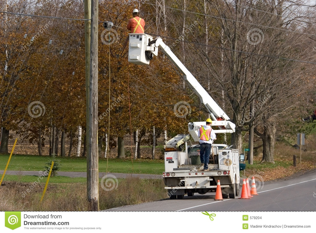 Construction electricians