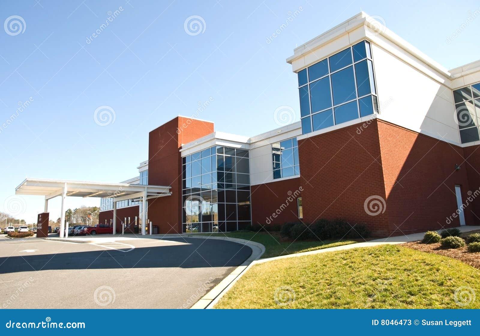 Construction/extérieur d hôpital