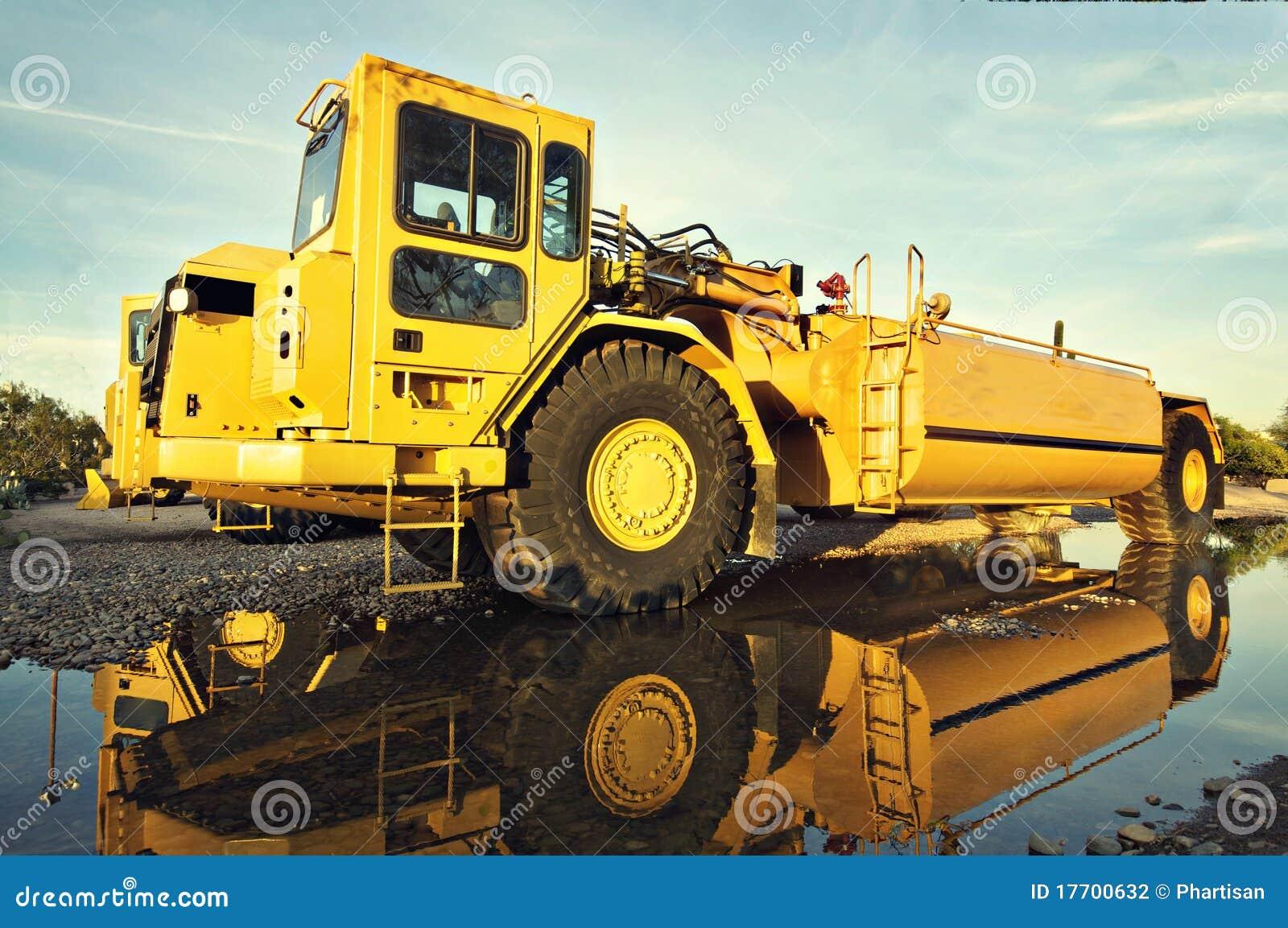Construction heavy duty vehicle equipment