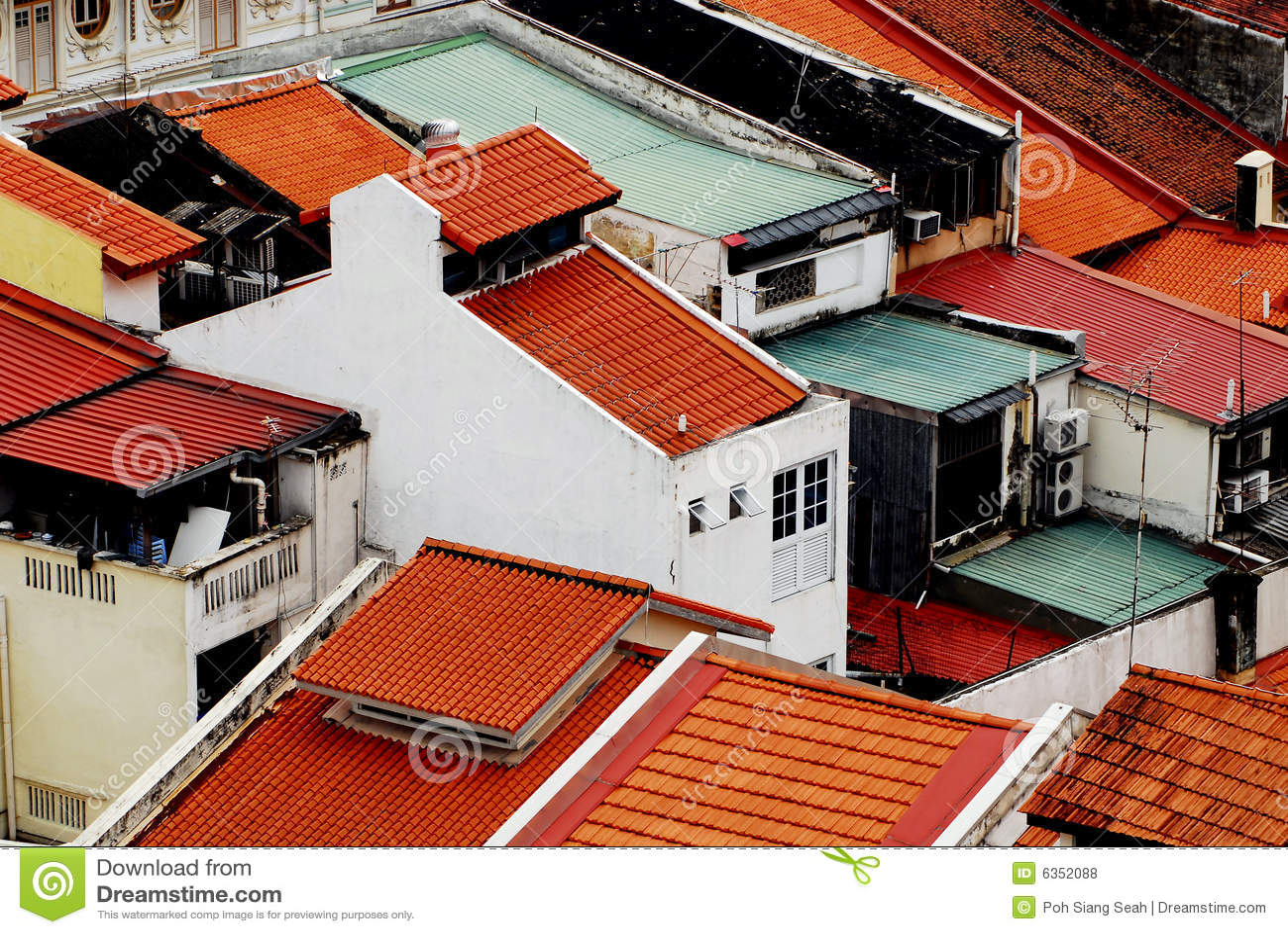 Construction historique à Singapour