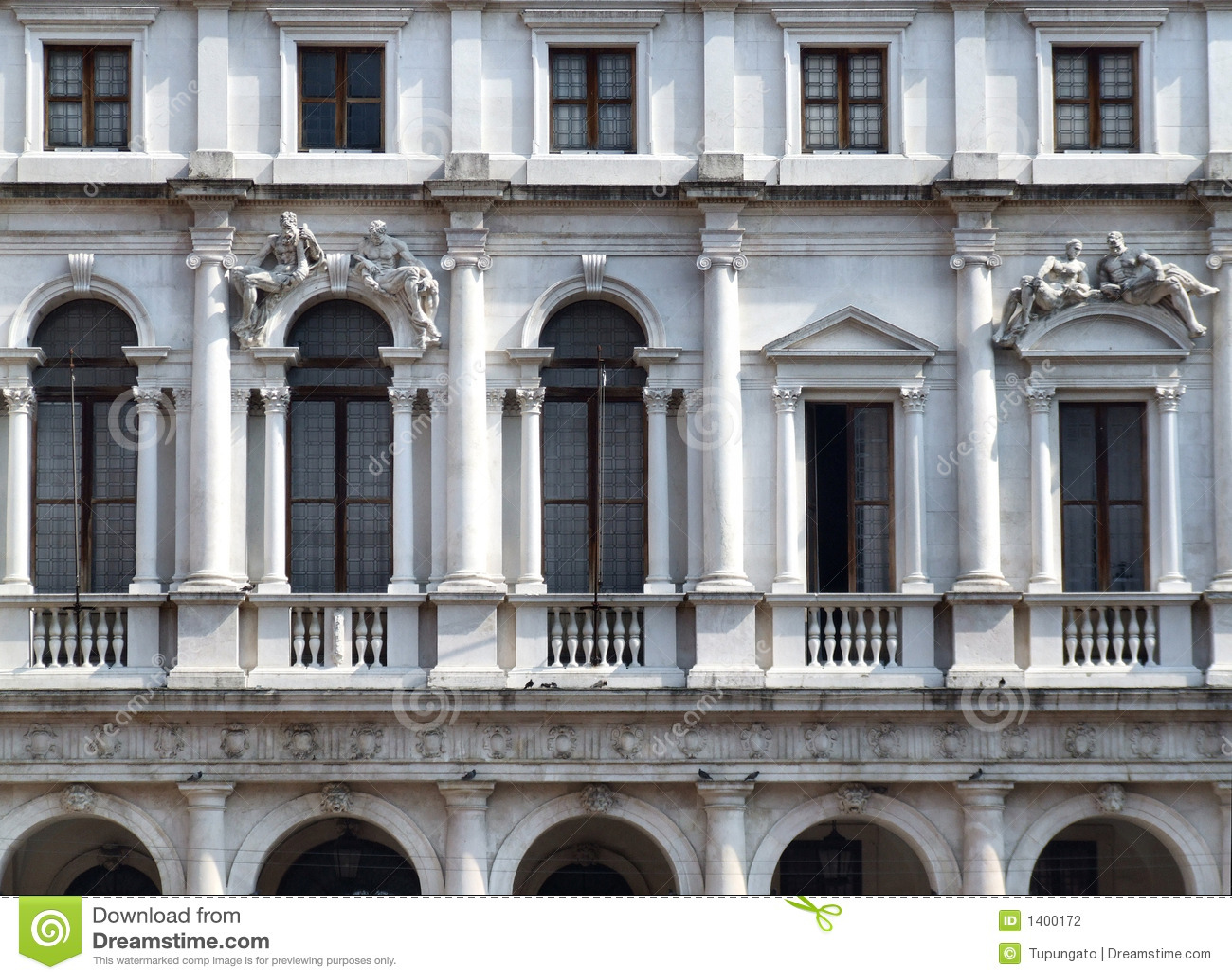Construction historique dans la ville italienne