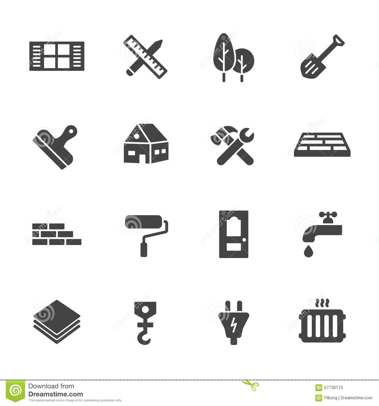 1511779 further Stock Illustration Construction Icons Building Home Repair Simple Flat Vector Set White Background Image57736173 likewise 6 24 further 39893262 as well Proyecto. on 68 flat roof