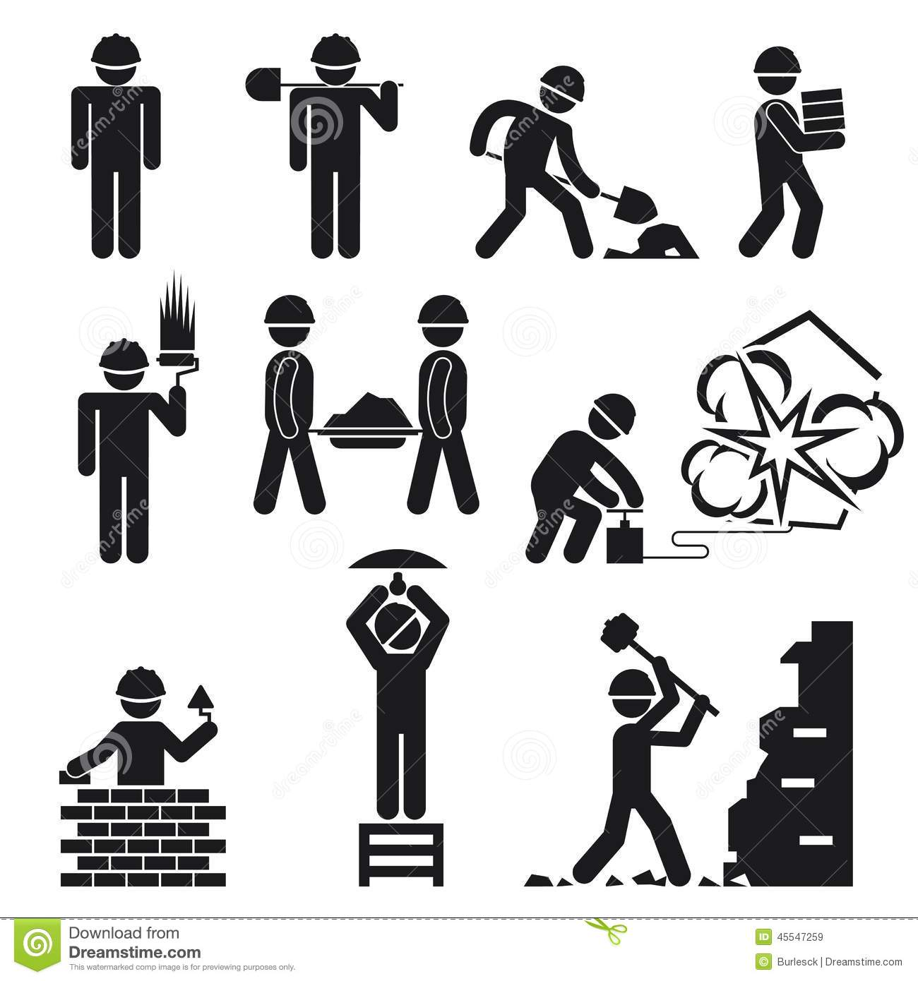Clipart Factory Worker