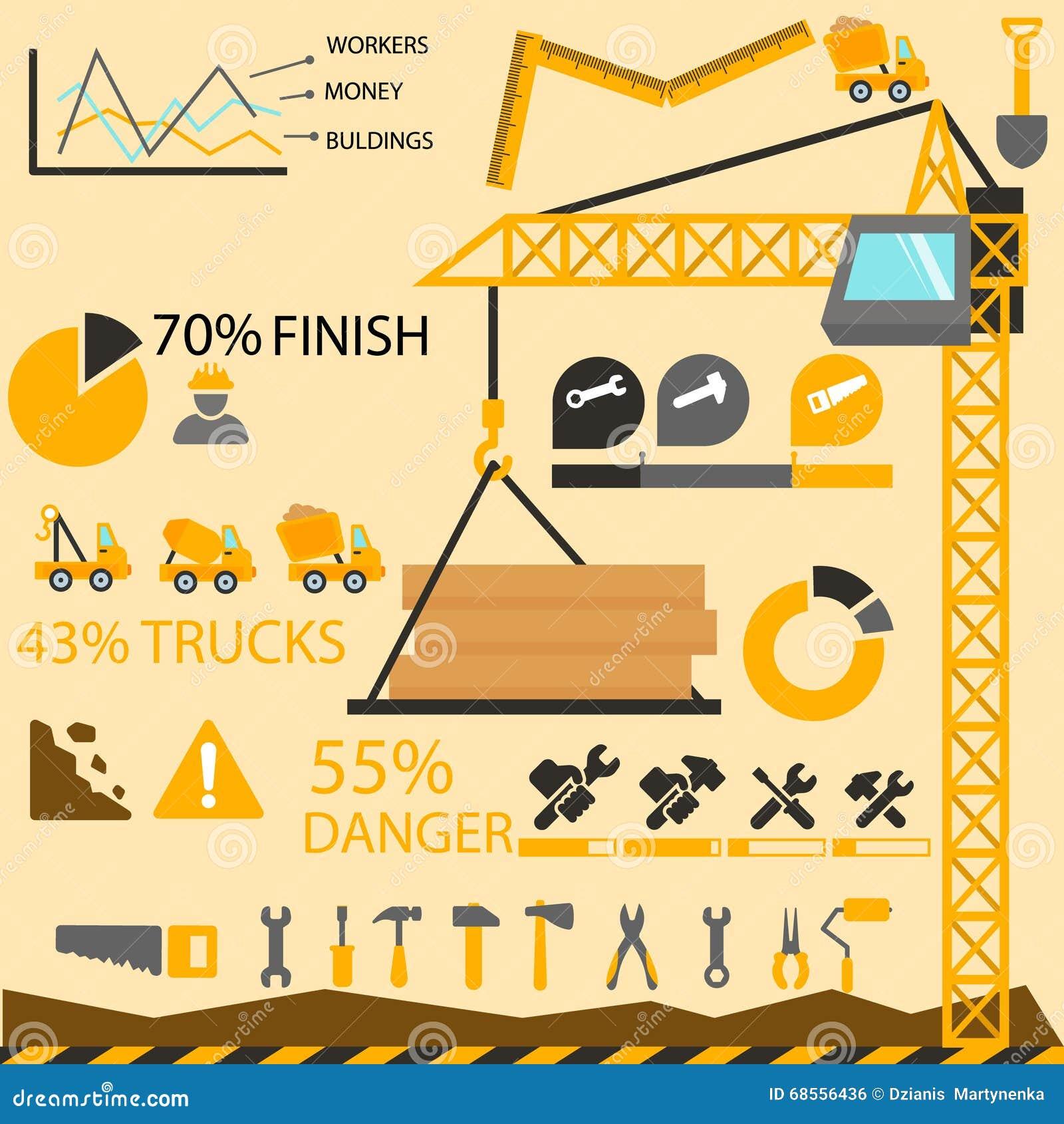 Construction information graphics construction elements for Construction info