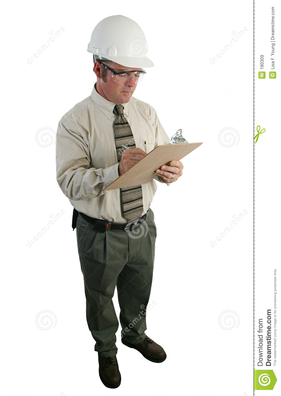 Construction inspector 3 royalty free stock images image A 1 inspections