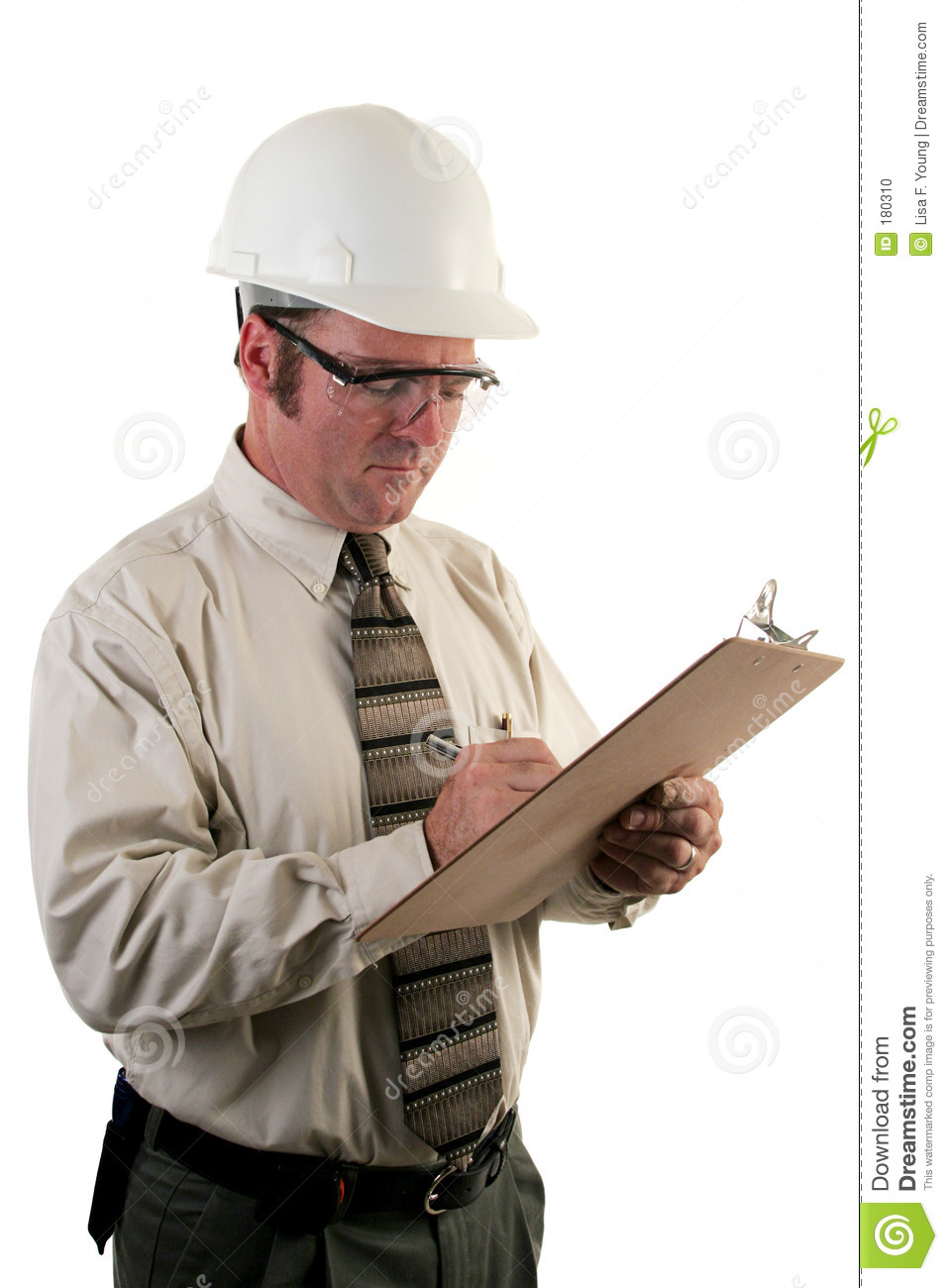 construction inspector 4 stock photo  image of osha