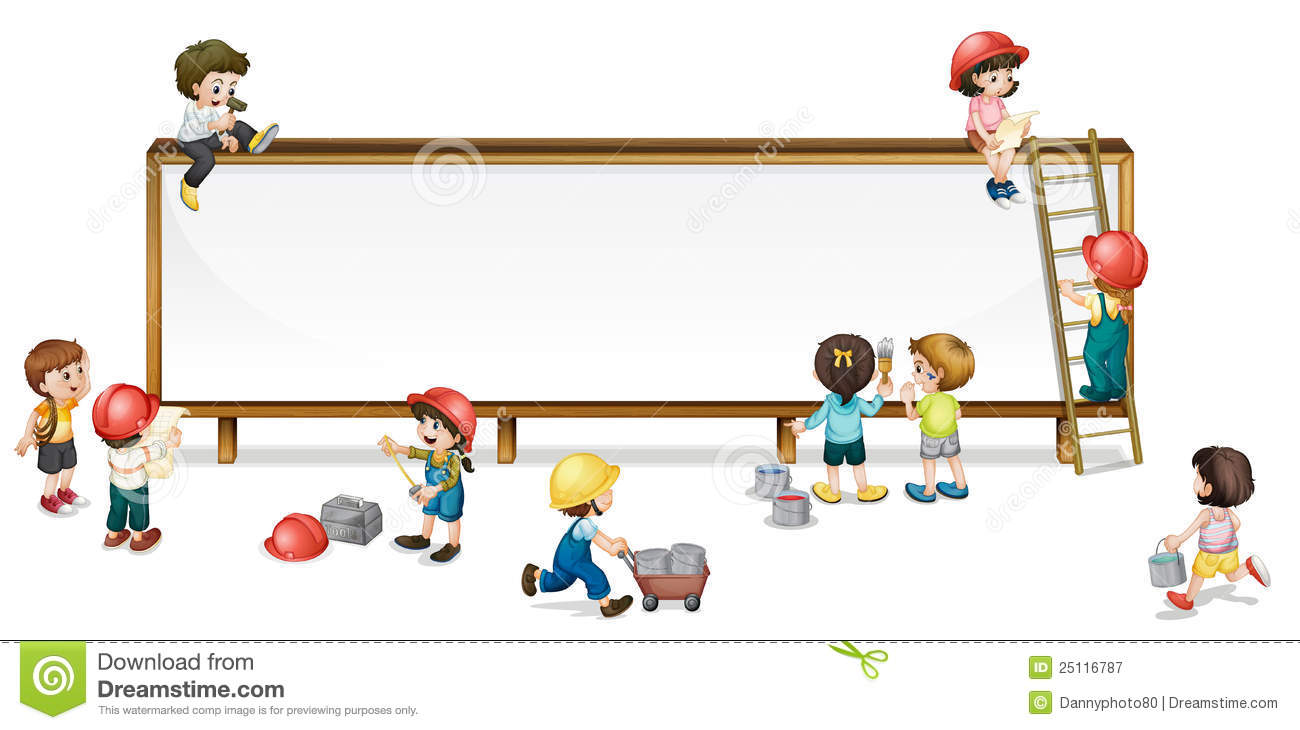 Construction Kids Stock Vector Image Of Build Girl