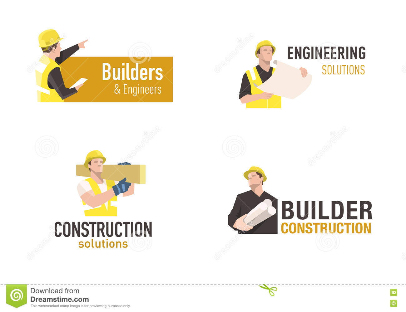 construction logo stock vector illustration of icon 77601276