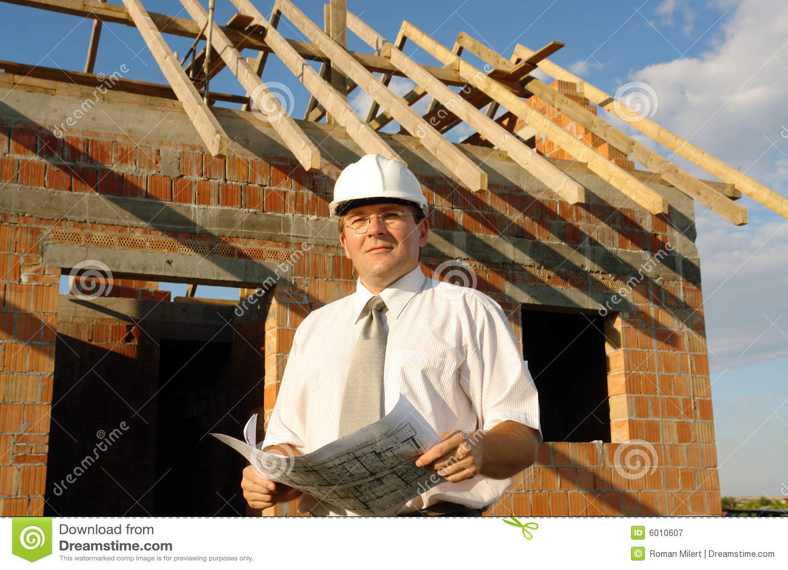Download Construction manager stock image. Image of design, framing - 6010607