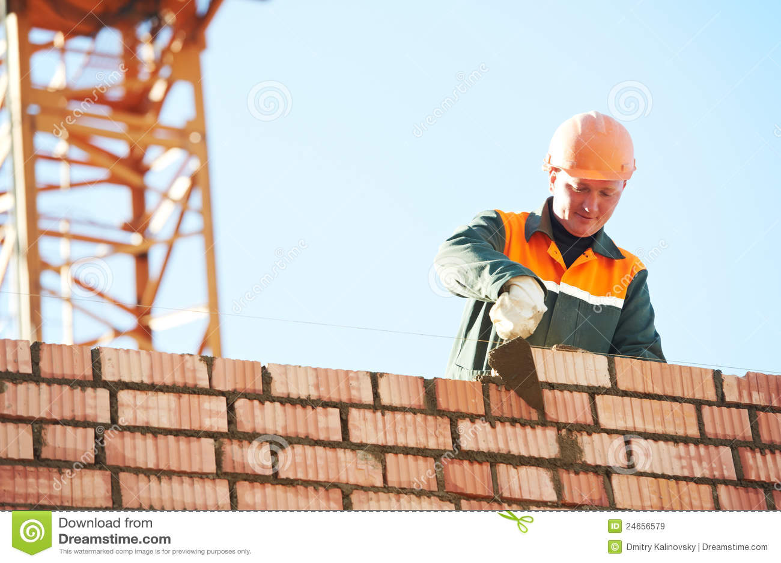Construction Building Worker