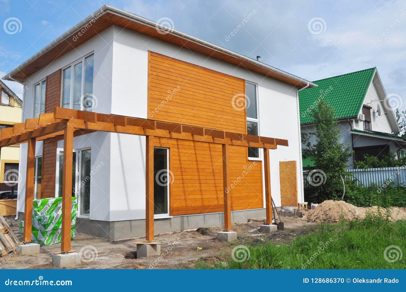 isolation maison moderne