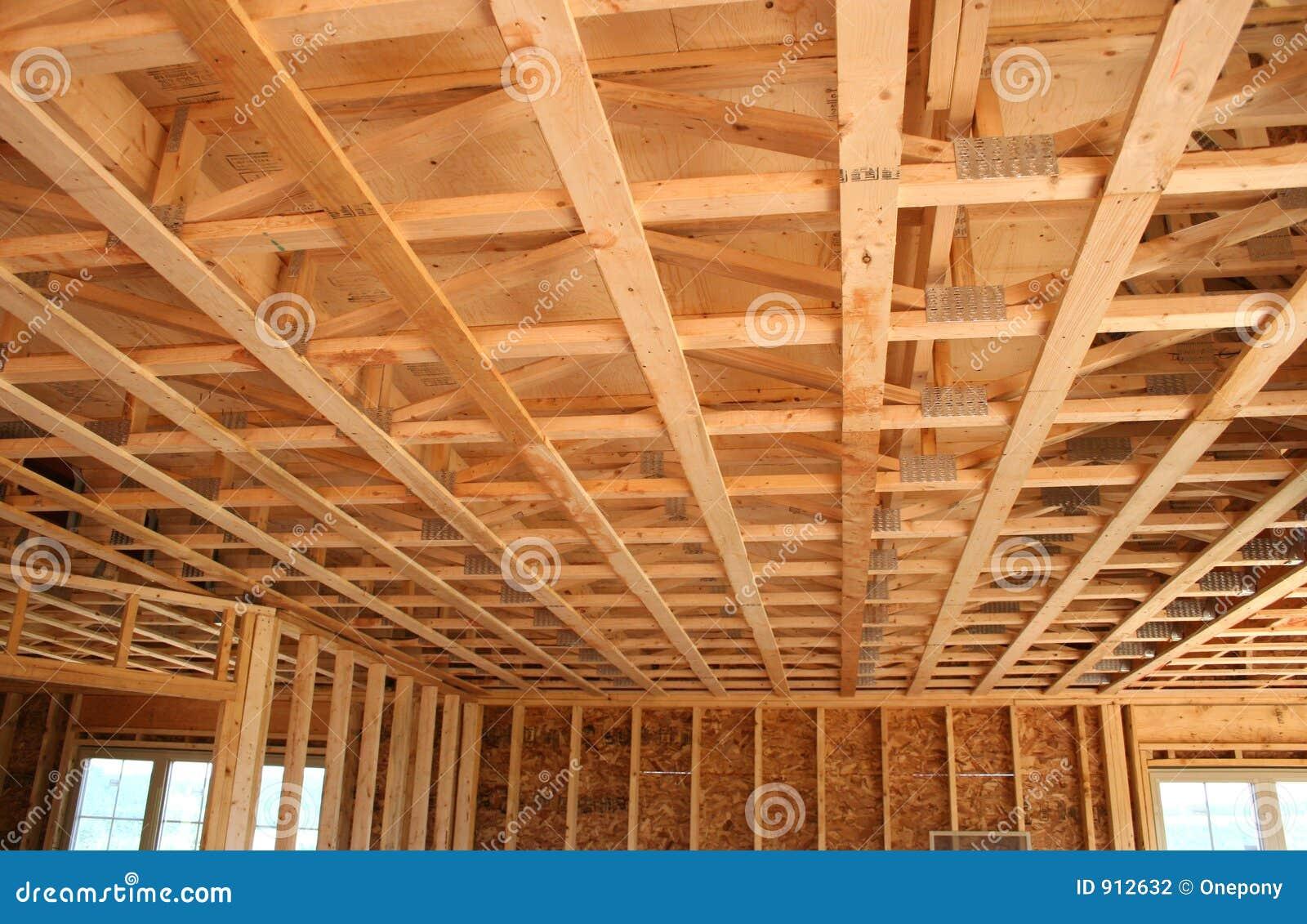Construction neuve de plafond