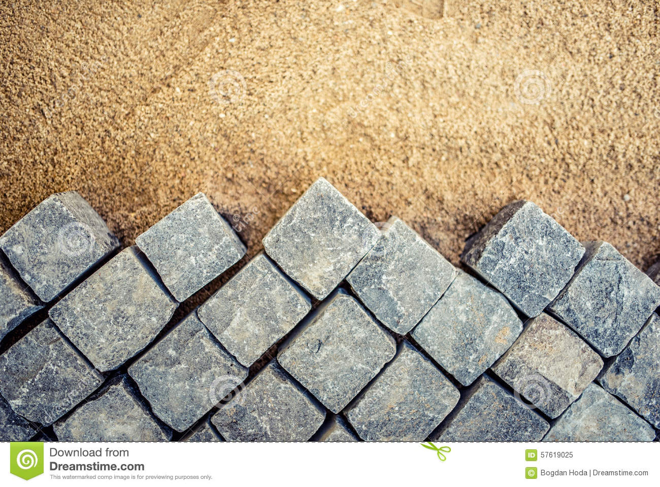Granite Building Blocks : Stone pavement royalty free stock photo cartoondealer