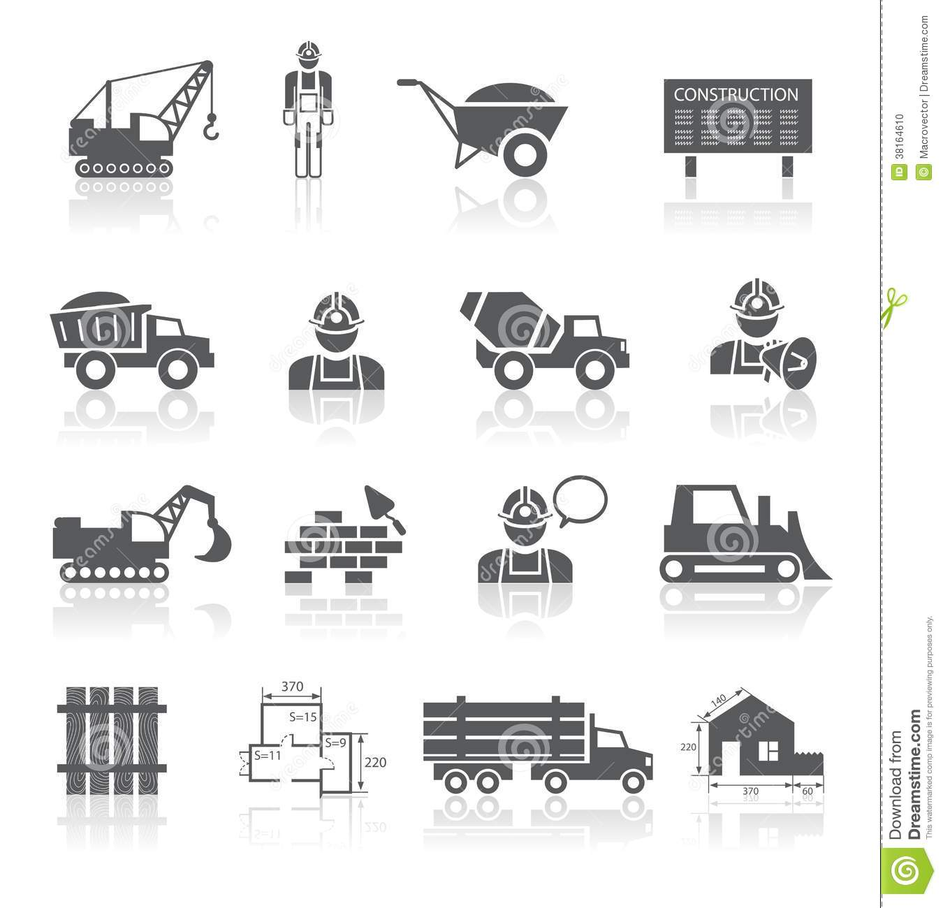 Construction Pictograms Collection Stock Photo Image Iphone Wallpapers Free Beautiful  HD Wallpapers, Images Over 1000+ [getprihce.gq]