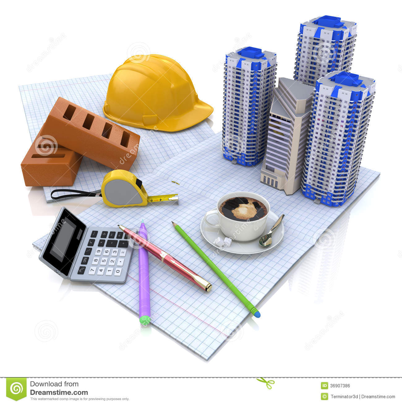 Construction project royalty free stock image image for Construction info