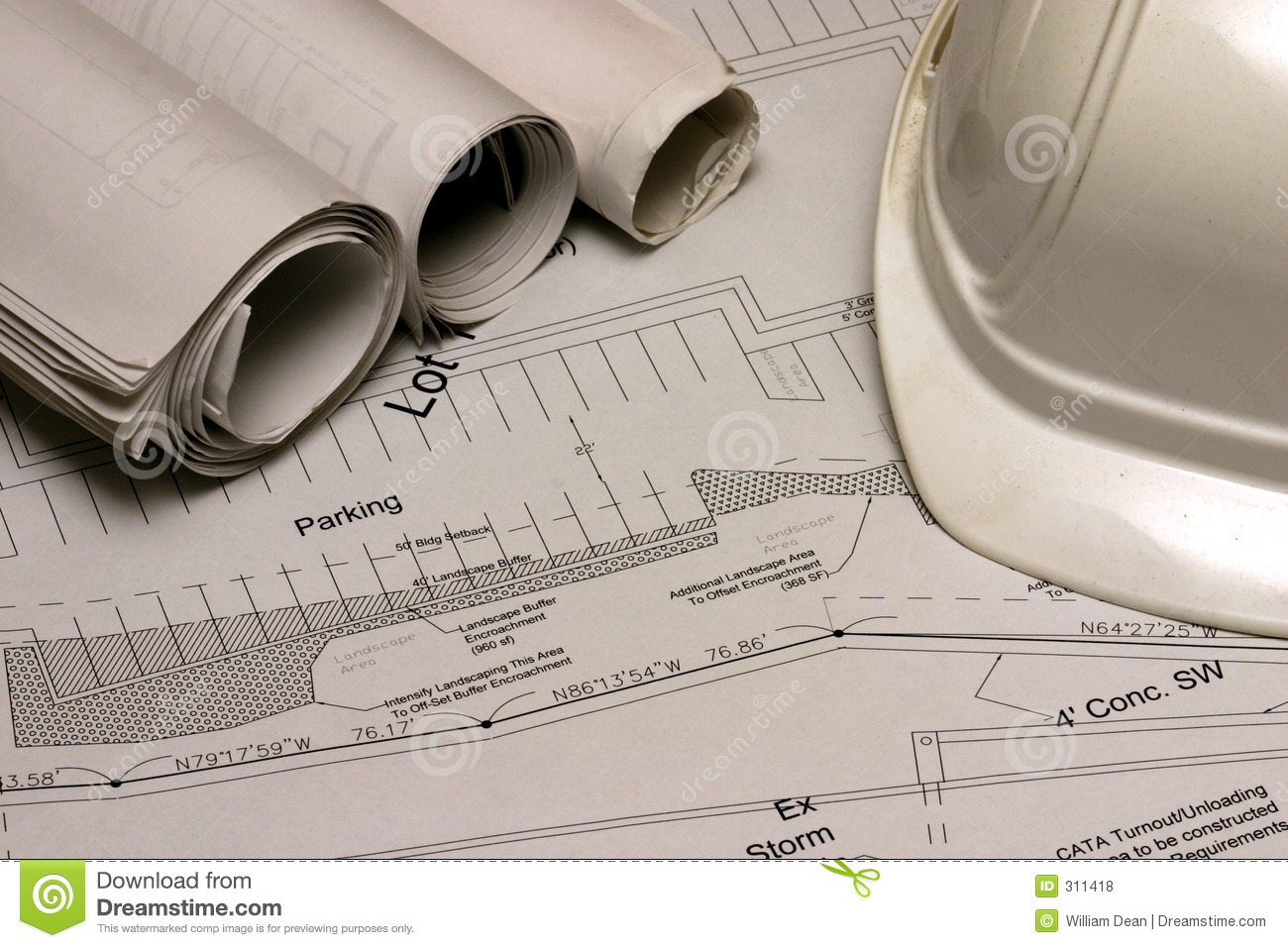 Construction plans 2 royalty free stock photos image 311418 for Construction plans