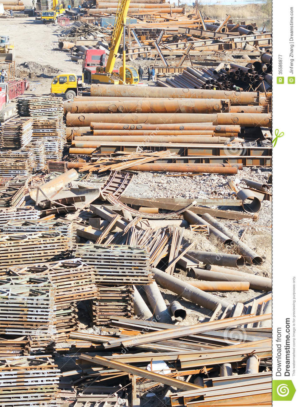 Building Materials Amp Building Supplies : Construction plant royalty free stock photography image