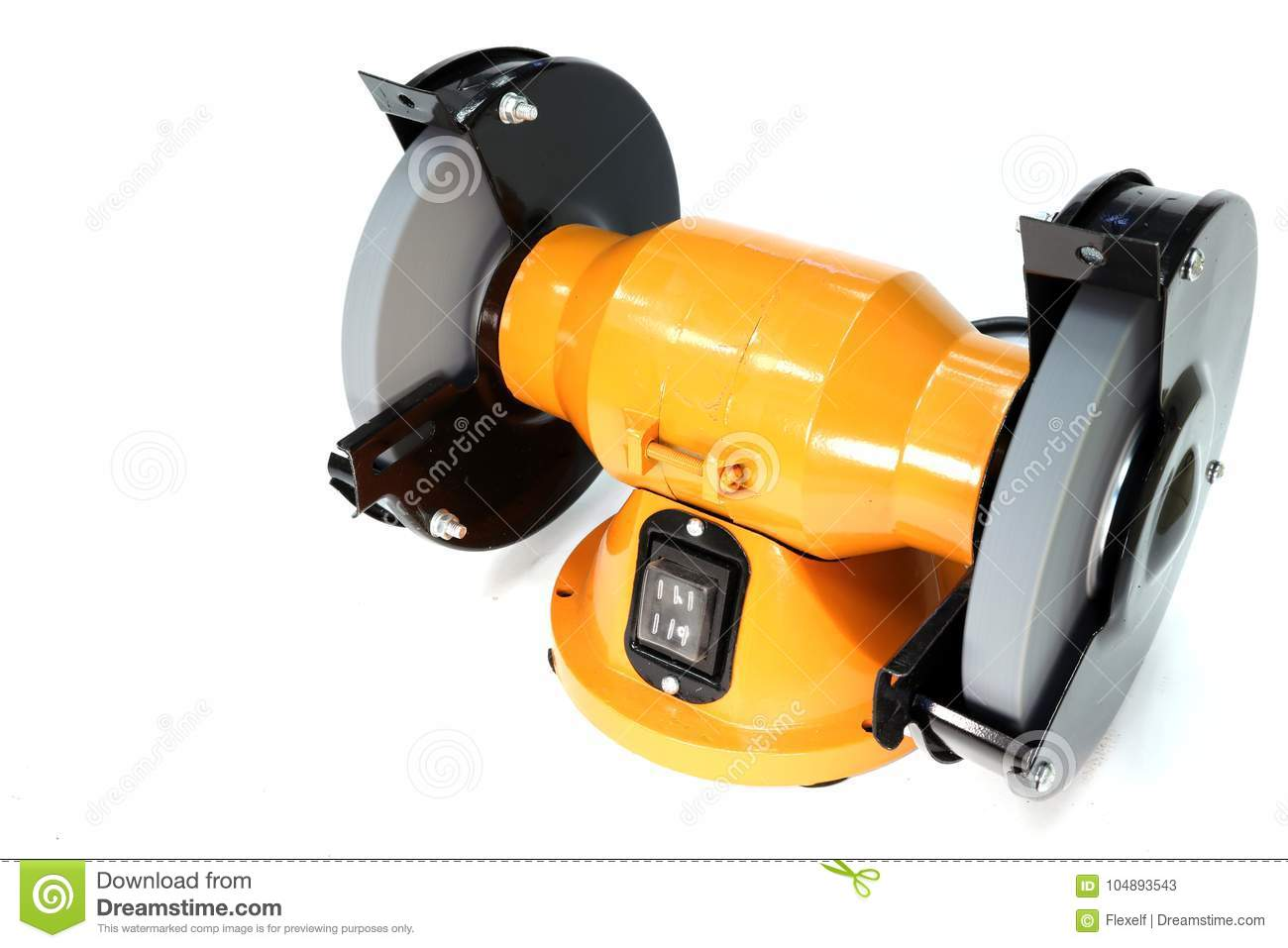 Grinding Machine Bench Grinder Stock Image Image