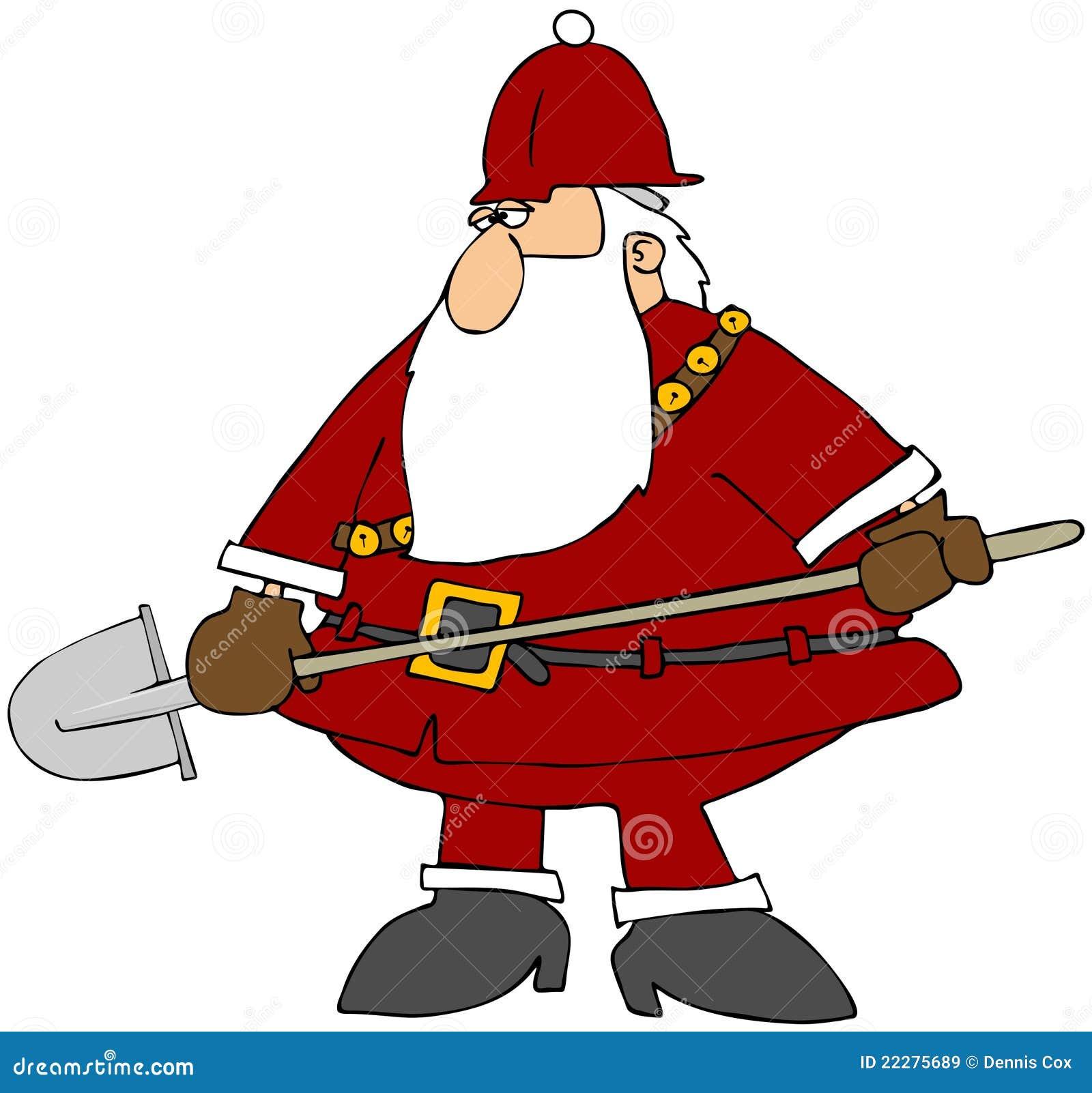 construction santa royalty free stock images image 22275689