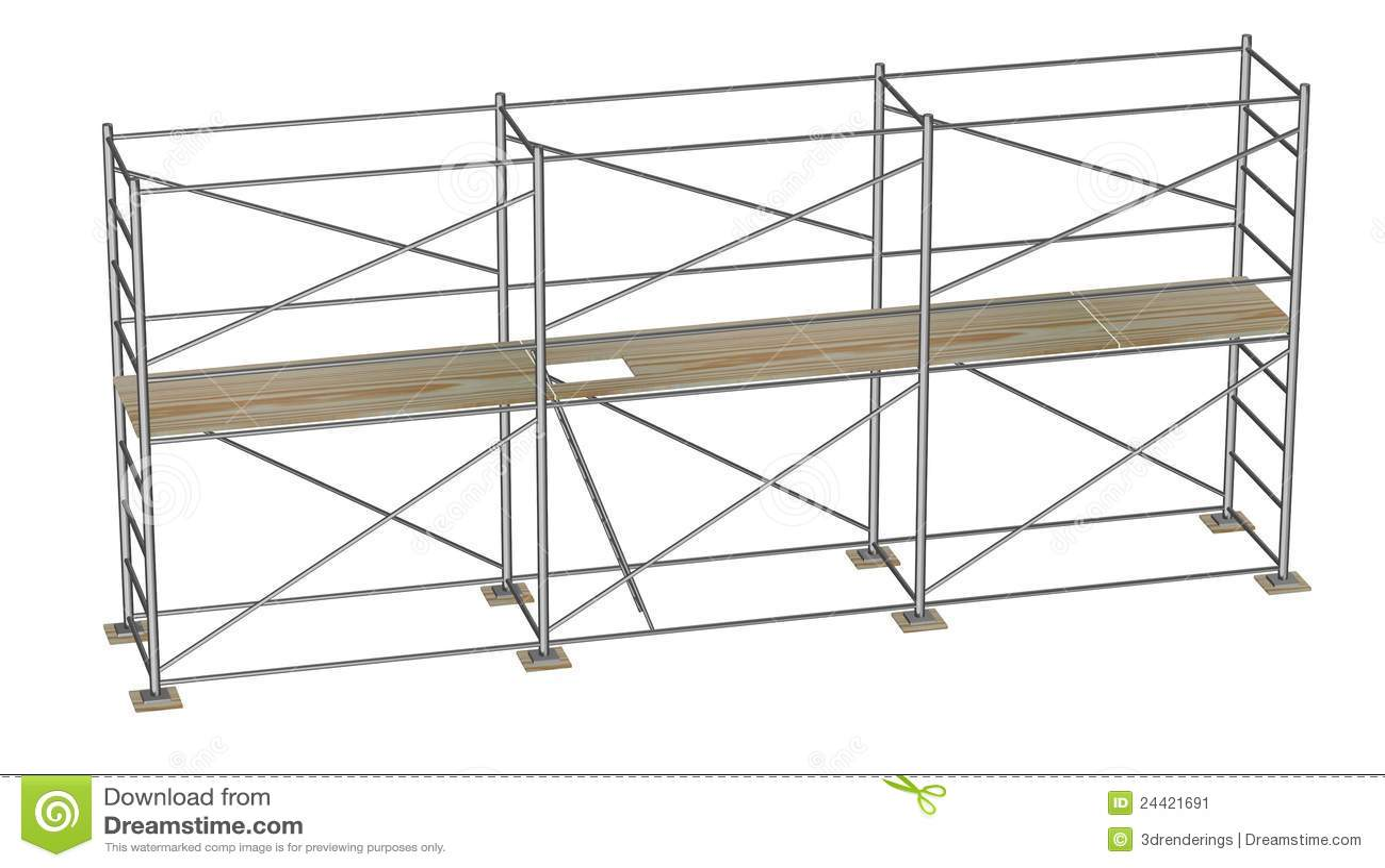 Construction Scaffolding Design : Construction scaffolding floors stock image