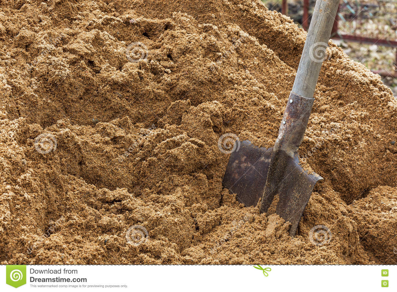What sand is needed for construction work 41