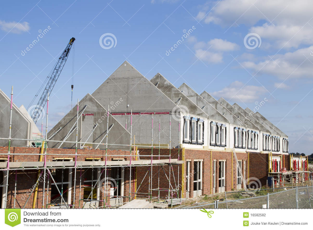 Construction site stock photography image 16582582 for Local house builders