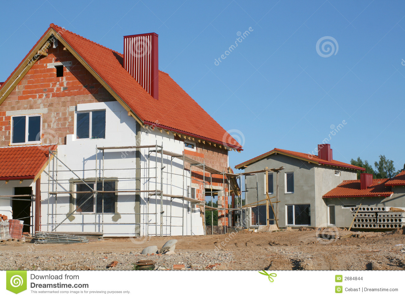 Construction site stock images image 2684844 for Home construction websites