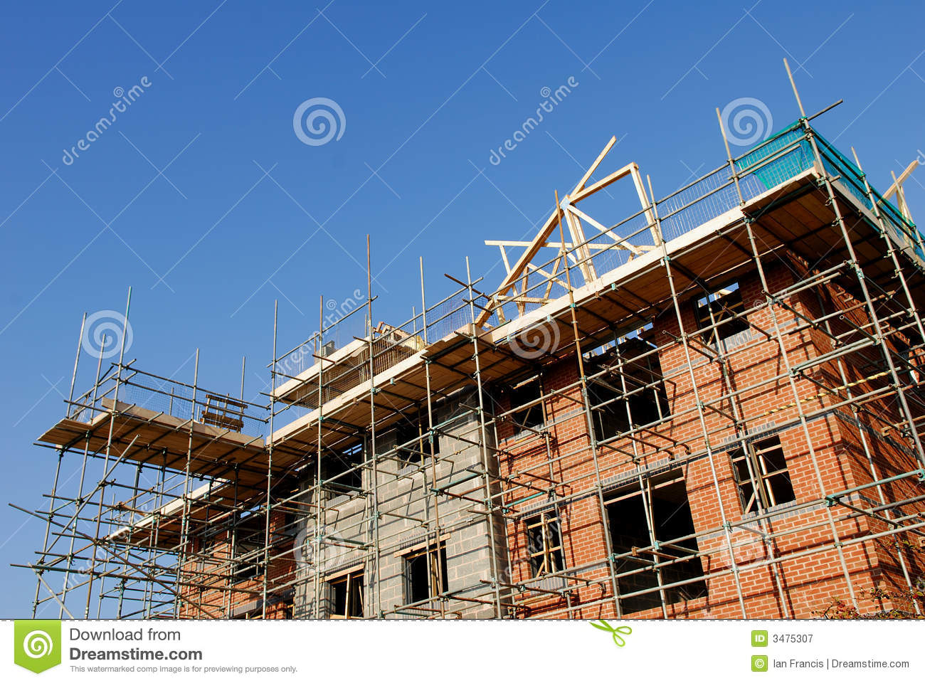 Construction site royalty free stock photography image for Building site house
