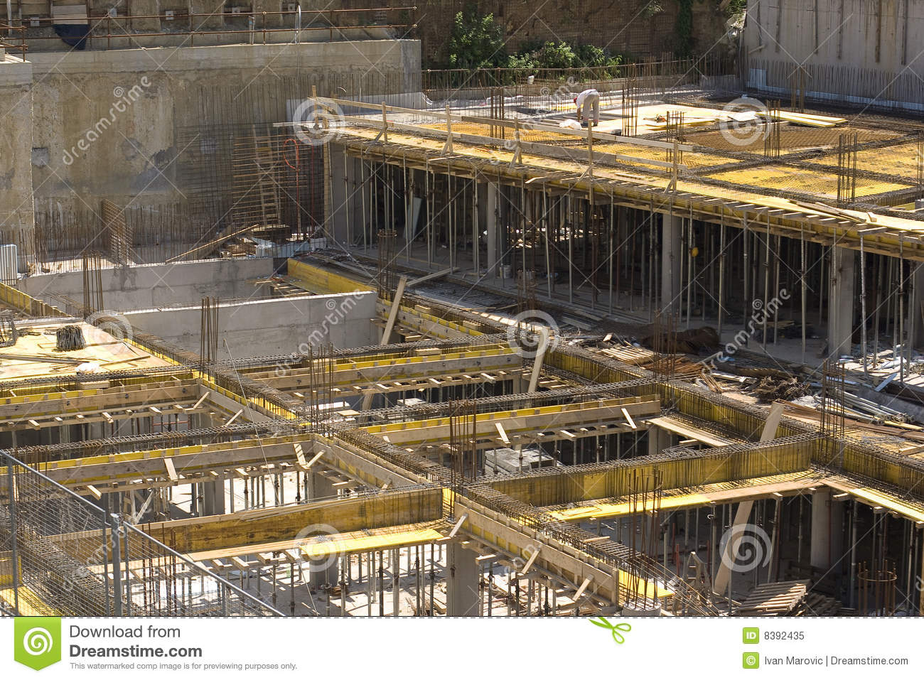 Construction site royalty free stock photo image 8392435 for Modern building construction
