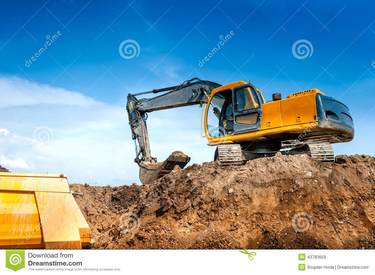 Construction Site Digger Excavator And Dumper Truck Iphone Wallpapers Free Beautiful  HD Wallpapers, Images Over 1000+ [getprihce.gq]