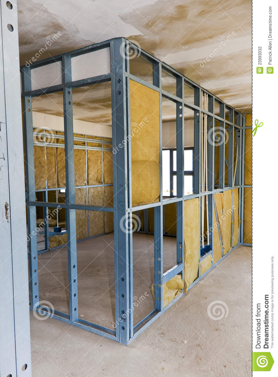 Construction Site Drywall Stock Photo Image Of Build